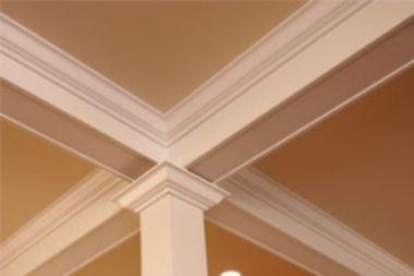 Molduras poliespan para techo pastor decoraciones - Molduras para techos interiores ...