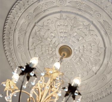 Molduras poliespan para techo pastor decoraciones - Rosetones de escayola ...
