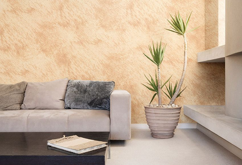 Efecto arena pastor decoraciones - Tecnicas de pintura paredes ...