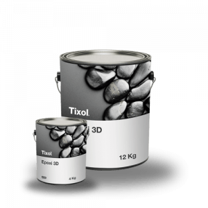 Resina epoxi 3D
